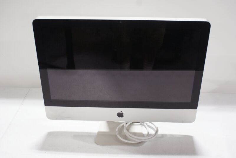 "Apple iMac 21.5"" Intel Core i5-2400S @3.3GHz 4GB RAM 500GB HDD"
