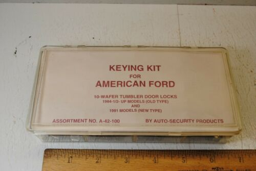 Keying Kit For American Ford