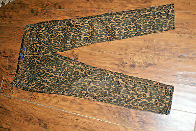 A New Approach a.n.a. animal print leopard animal print skinny jeans 30/10