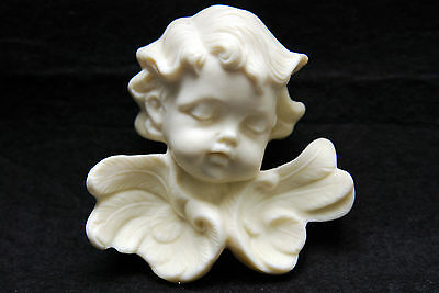 Ribbon angel, Silicone Mold Chocolate Polymer Clay Jewelry Soap Wax Resin