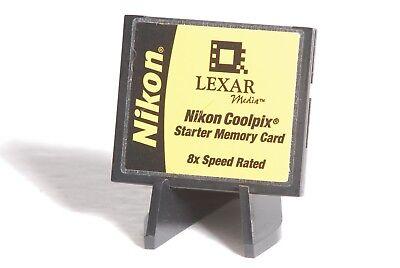 Lexar / Nikon Coolpix 16MB 8x Speed Rated CF Compact Flash Camera Memory -