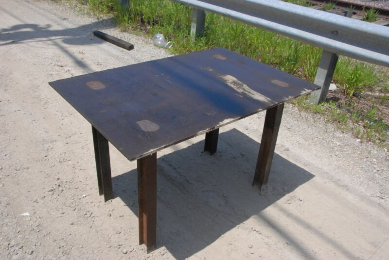 """Welding table 50*33 1/2*30,3/8""""thick INV=29613"""