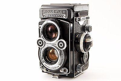 [Near Mint] Rolleiflex 3.5F TLR w/ Planar 75mm f3.5 Camera Ref.No 127193