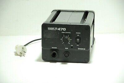 Hakko 470-6 Desoldering Station Without Soldering Gun