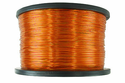 Temco Magnet Wire 22 Awg Gauge Enameled Copper 7.5lb 3757ft 200c Coil Winding