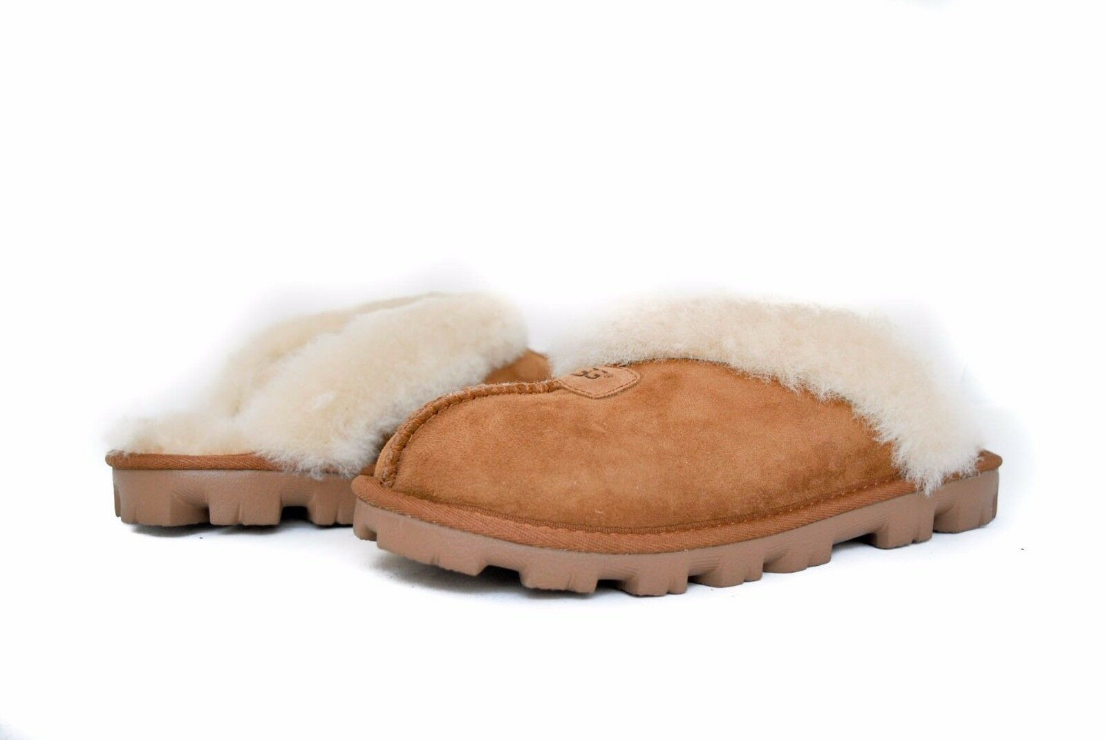 UGG Women COQUETTE SLIPPERS Slip on 5125 in CHESTNUT Sz 5-12 NEW