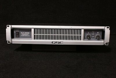Used, QSC PLX2502 Stereo Power Amplifier  for sale  USA