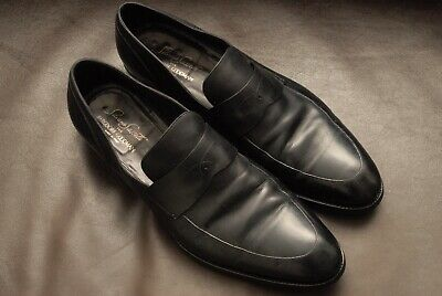 Silvano Sassetti for Bergdorf Goodman limited edition black loafer 12 BEAUTIFUL