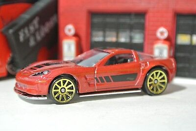 Hot Wheels Loose - '09 Corvette ZR1 - Burnt Red - 1:64 - Exclusive