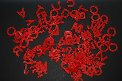 Alphabet confetti, 26 letter options and 20 colours!