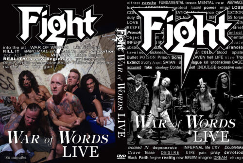 Fight - Rob Halford - Judas Priest - War of Words Live  - DVD