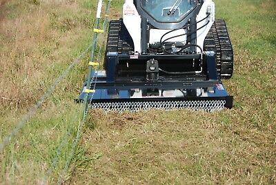 B-built Mfg Hd-68 Dual Position Mount Brush Buster Skid Steer Brush Mower