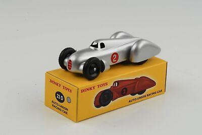 - Auto Union Audi Racing Car#2 silber Ref 23D 1:43 Dinky Toys Atlas