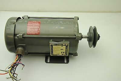 Baldor Electric Co. CA263452 # 34-5323-5721, AC Motor .75HP 208-230/460V