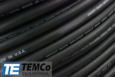 Welding Cable 10 Black 150 Ft Battery Leads Usa New Gauge Copper Awg