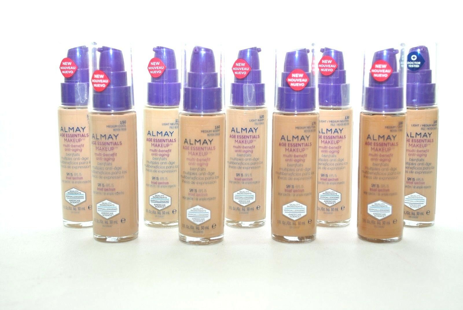 Almay Age Essentials Makeup SPF 15    -Buy 1 Get 1 30% OFF!!