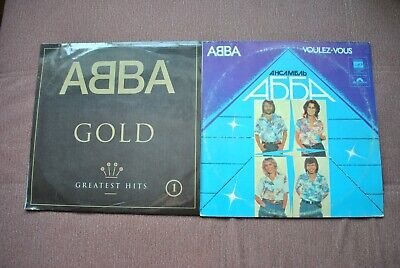 abba - gold greatest hits 1 / voulez-vous / 2 lp vinyl russia