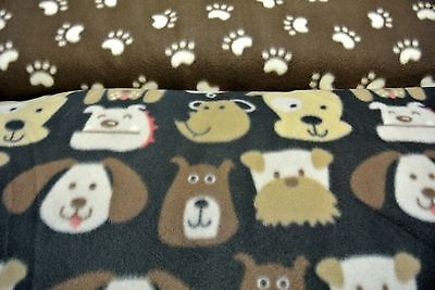 Dog Blanket Terrier Bulldog Puppy Can Personalize Double Sided 28x44