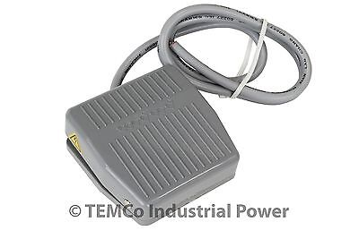 TEMCo Foot Switch 10A SPDT NO NC Electric Power Pedal Momentary Control New CNC