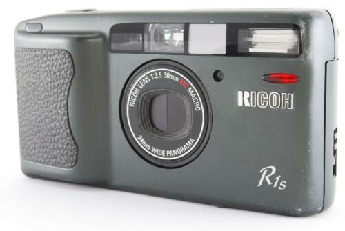 【 EXC+5 / LCD Works 】 Ricoh R1S Point & Shoot 35mm Film Camera from Japan 858490