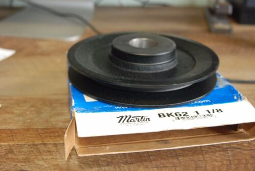 "Martin BK62 1 1/8"",  V Belt Pully,   New in Box"