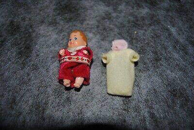 (60) barbie ancienne vintage : bébé 1985