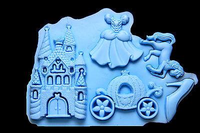 Sugarcraft Silicone Mold Sugarpaste Fondant Mould Chocolate Cake Decorating 1641