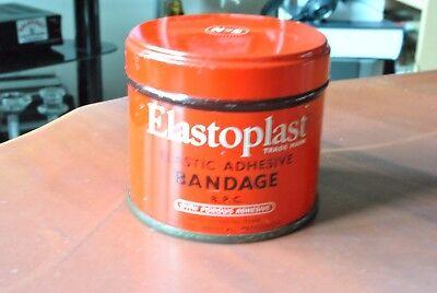 VINTAGE ELASTOPLAST METAL TIN
