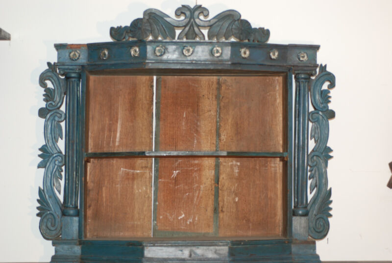 NICHE antique escaperate shadow box