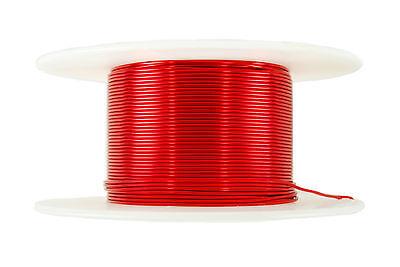 Temco Magnet Wire 17 Awg Gauge Enameled Copper 2oz 155c 20ft Coil Winding