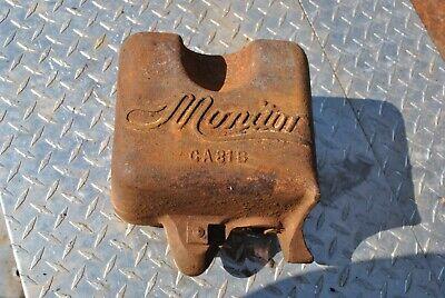 Original Baker Monitor Vj Pump Jack Hit Miss Gas Engine Cast Iron Fuel Tank