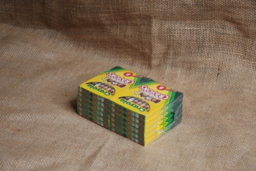 12 Packages Crayola Multicultural Crayons 8 Count Each Non Toxic