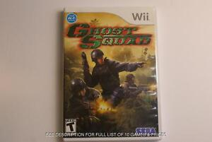 10 GREAT Wii Games!  Great Prices! Classic Titles!  Lots of fun!