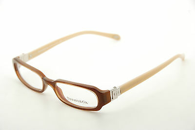 New Authentic Tiffany & Co TF 2005 8016 Brown 48mm Frames Eyeglasses Italy RX