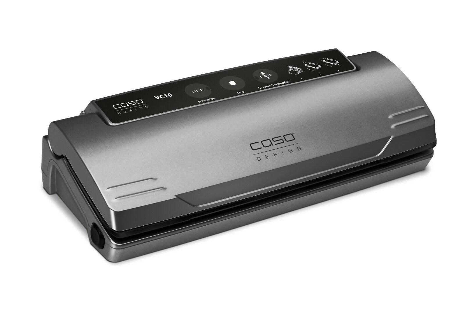 CASO VC 10 Testsieger Set - Vakuumiersystem mit viel Zubehör (B-Ware)