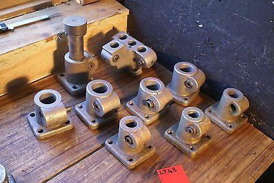 Ward Herbert Turret Lathe Tool Block Holder Lot Ea Center Clean 9 Pc Set