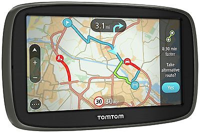 TomTom GO 50 5 Inch Lifetime Maps & Traffic Western Europe - Black -From Argos