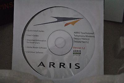 Руководство Arris Touchstone TM502G/H Telephony Modem