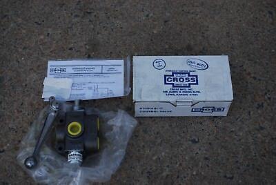 Cross Vs4 Hydraulic Control Valve Vs4baba8 Linear 3 Port 128445 M-915 Truck New