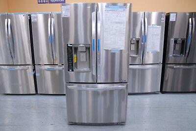 New LG LFX25974ST 25 Cu. Ft. 3-Door French Door Refrigerator Ice/Water Dispenser