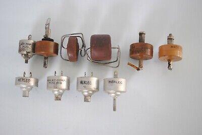Vintage Crl Herlec Doorknob Capacitors