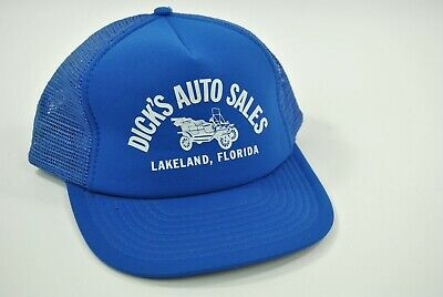 Lakeland Hat (Dick's Auto Sales Lakeland Florida Trucker Cap Baseball Adjustable Snapback Hat)
