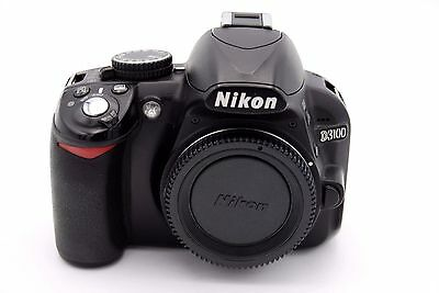 Used, Nikon D D3100 14.2MP Digital SLR Camera - Black (Body Only) for sale  Shipping to India