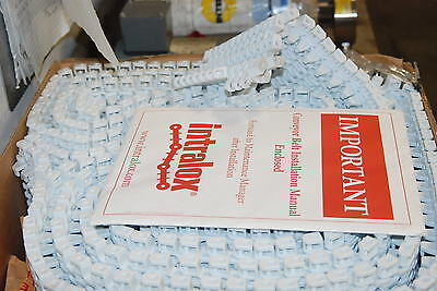 Intralox 2400 Series 6 X 28 Long Plastic Chain With Hold Downs New In Box