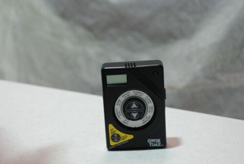 Qwik Time Qt-7 Quartz Metronome with Digital Display & Stand