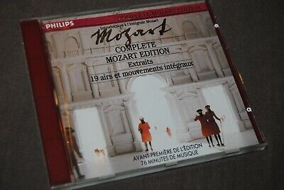 MOZART - COMPLETE MOZART EDITION CD / PHILIPS - 426 735-2 / 1990