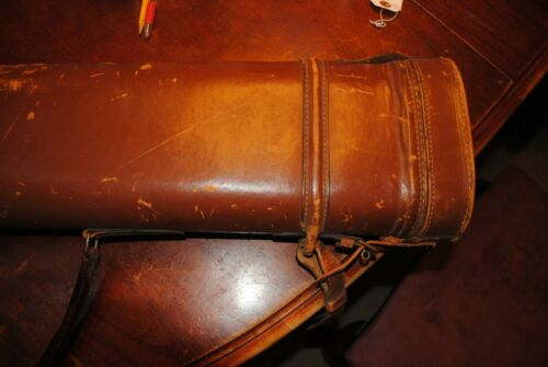 Vintage Leather Leg O Mutton Shotgun Case