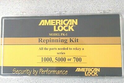 American Padlock Rekeying Kit For Servicing And Repinning 1000 5000 700 Series