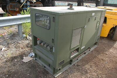 Military Generator 120208v 3 Phase With John Deere 3029tf270 Diesel Inv28779