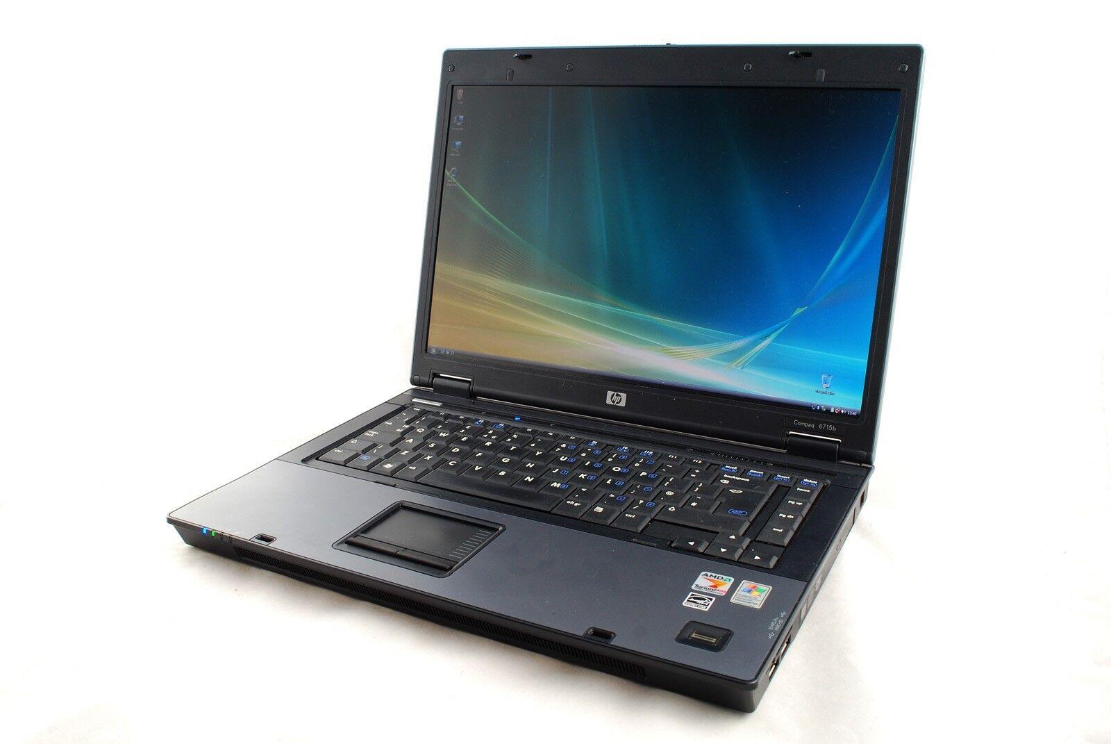 "Laptop Windows - CHEAP FAST HP COMPAQ 6715 15.4"" AMD 4GB RAM 250GB HDD DVDRW WINDOWS 7 LAPTOP"